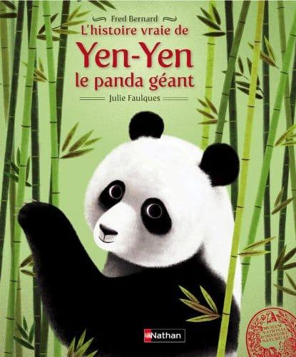 Couverture L'histoire vraie de Yen Yen le panda géant
