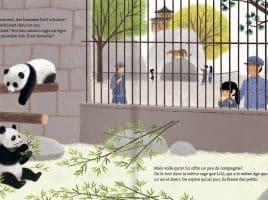 Livre L'histoire vraie de Yen Yen le panda géant